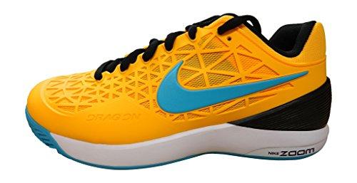 Nike - Zoom Cage 2 Clay Herren Tennisschuh (orange/hellblau) - EU 45 - US 11