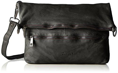 Think! - Think! Bag, Borsa a spalla Donna Nero (Nero 00)