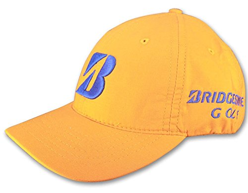 2014 Bridgestone Matt Kuchar Collection Adjustable Tour Mens Golf Cap Orange (Cap Bridgestone)
