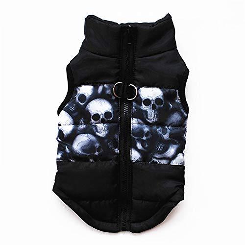 ZZQ Warme Haustierkleidung für Hundekleidung für kleine Hunde Mantel Jacke Welpen Haustierkleidung für Hunde Kostüm Weste Bekleidung Chihuahua Jacke,4,L (Hunde Kostüm Für Chihuahuas)
