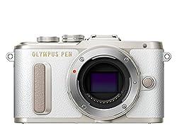 Olympus PEN E-PL8 Kompakte Systemkamera (16 Megapixel, elektrischer Zoom, Full HD, 7,6 cm (3 Zoll) Display, Wifi) weiß