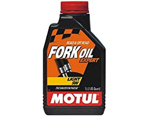 Huile de fourche Motul Fork Oil Expert Light 5W 1 litre