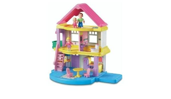Fisher Price My First Dollhouse With Chunky Easy To Hold Figures