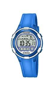 Calypso - K5692/4 - Montre Femme - Quartz - Digitale - Alarme - Chronomètre - Bracelet plastique Bleu