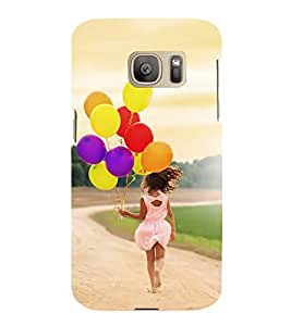 ifasho Designer Back Case Cover for Samsung Galaxy S7 Edge :: Samsung Galaxy S7 Edge Duos :: Samsung Galaxy S7 Edge G935F G935 G935Fd (Girl Bangalore India Girl Yoga Pant)