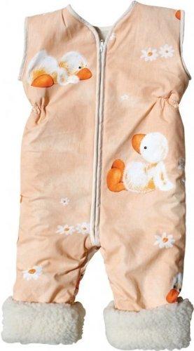 Babies & Kids - Öko-Schlafoverall Watschel Schurwollplüsch, Größe:120 cm (5-7 Jahre)