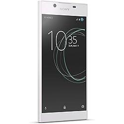 Sony Xperia L1 Smartphone portable débloqué 4G (Ecran: 5,5 pouces - 16 Go, 13 MP, Nano-SIM - Android 7,0) Blanc