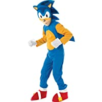 Rubies - Sonic el Erizo, Traje para niños de 7-8 años (disfraz