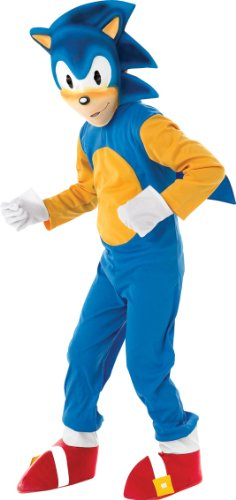 Sonic The Hedgehog - Kids Costume 5 - 6 years (Hedgehog Fancy Dress Kostüm)