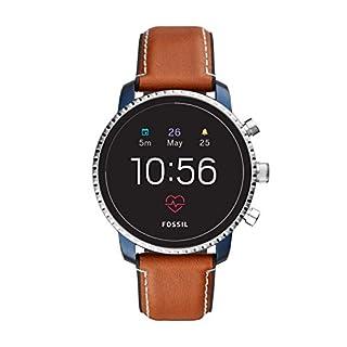 Fossil FTW4016 Men's Gen 4 Explorist HR Silicone Touchscreen Smartwatch ,Brown (B07FFKTZ8K) | Amazon Products