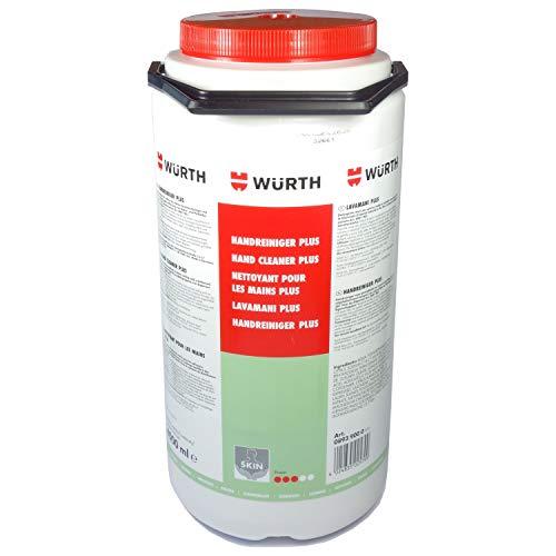 Würth Handreiniger Plus 4000 ml Handwaschpaste pflegende Hand-Waschpaste Werkstatt Seife 08939000