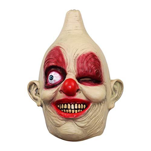 aske Halloween lustige Maske einäugige Maske Party Prop beängstigend Kopfbedeckung Terror Maske Kopfbedeckung Cosplay Monster Prom Party gefallen ()