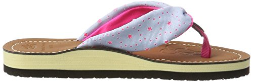 Lico Caribbean Kids, Tongs Fille Grau (GRAU/PINK             LOT)