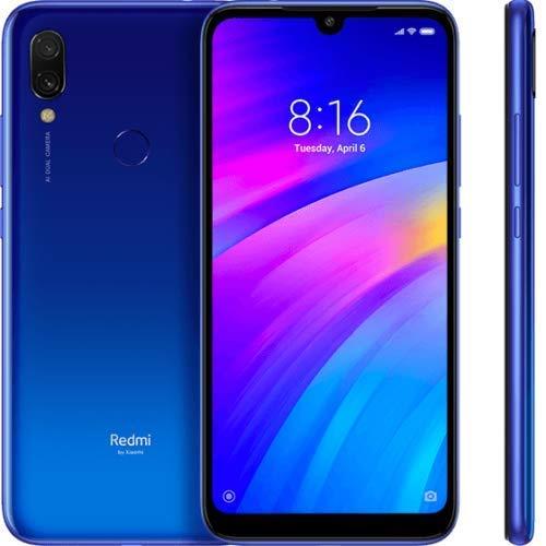 """Xiaomi Redmi 7 2GB RAM 16GB ROM Teléfono móvil Snapdragon 632 Octa Core 12MP 6.26""""4000mAh batería (versión de la UE) Azul"""