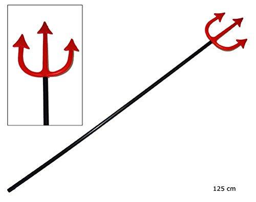 Tridente smontabile forca da diavolo forcone 125 cm