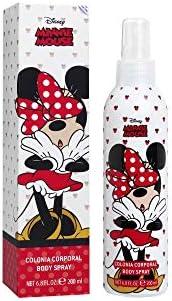 Air-Val Disney Minnie Mouse Body Spray For Children, 200 ml