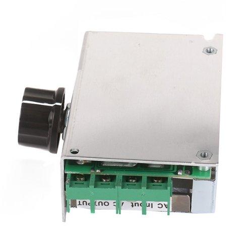 BQLZR 4000W 220V Spannungsregler SCR Motor Drehzahlregelung Thermostat Dimmer