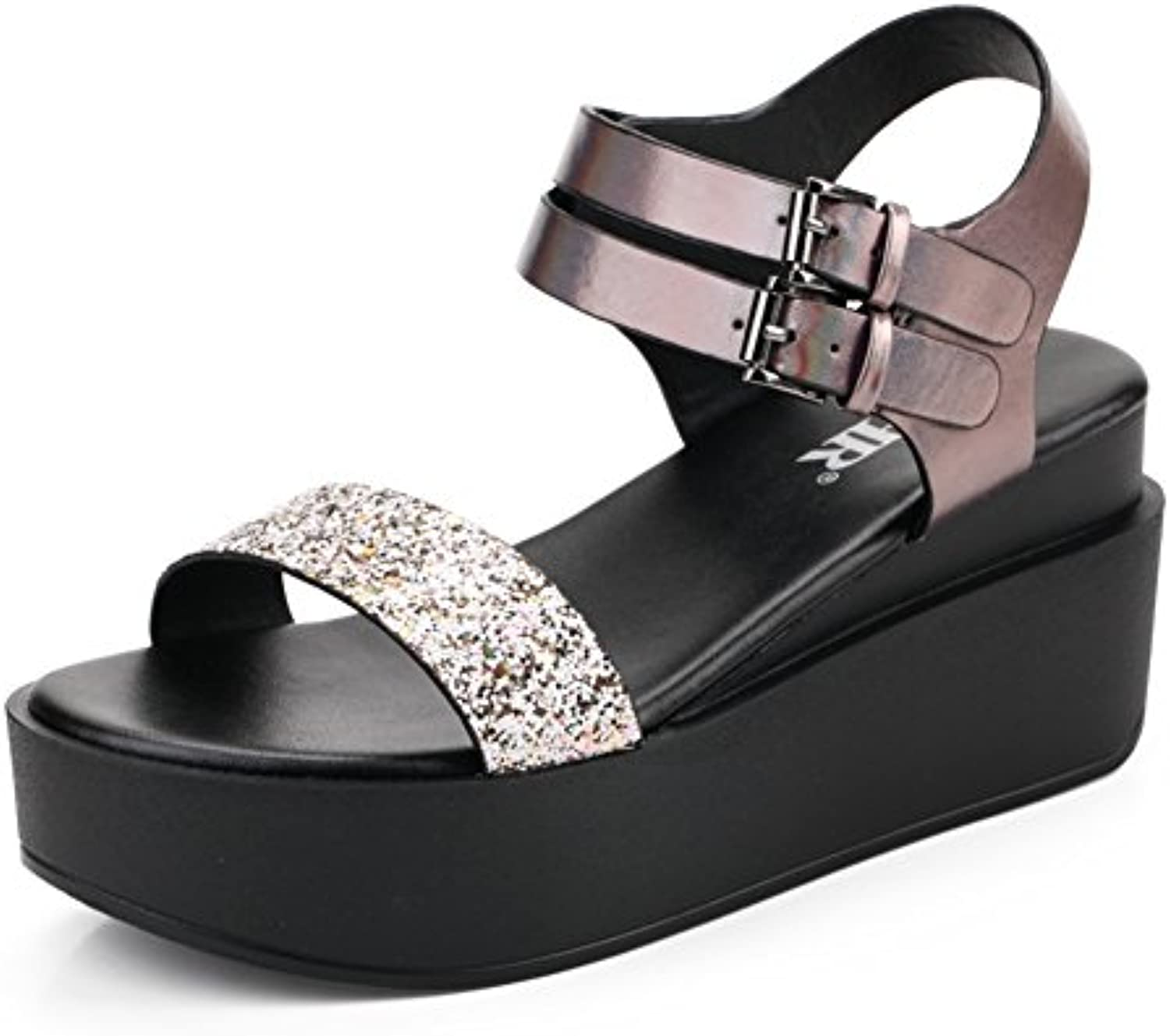 e6602c59b70 Muffins Thick-soled Sandals In The Summer