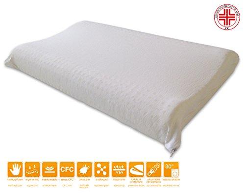 Zoom IMG-3 marcapiuma cuscino in memory foam