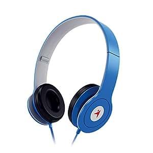 Genius HS-M450 On-Ear Headphones with Mic (Blue)