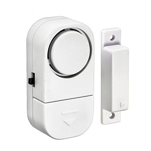 Preisvergleich Produktbild Minkoll Eintrag Alarm,  Wireless Home Fenster Tür Eintrag Einbrecher Alarmanlage Magnetic Sensor