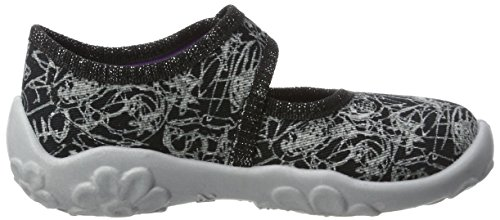 Superfit Bonny, Sneakers basses fille Schwarz (Schwarz Kombi)