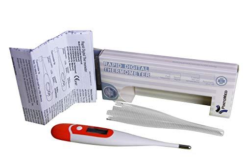 Termometro Corporal, Digital, Color Blanco, Temperatura