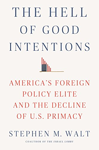 The Hell of Good Intentions: America's Foreign Policy Elite and the Decline of U.S. Primacy (English Edition) por Stephen M. Walt