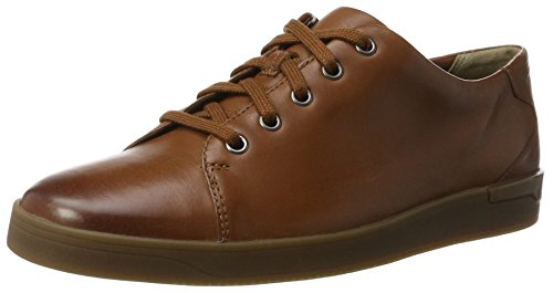 Clarks Stanway Lace, Abarcas para Hombre, Marrón (Tan Leather), 40 EU