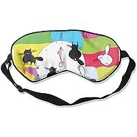 Comfortable Sleep Eyes Masks Graphic Cats Pattern Sleeping Mask For Travelling, Night Noon Nap, Mediation Or Yoga preisvergleich bei billige-tabletten.eu