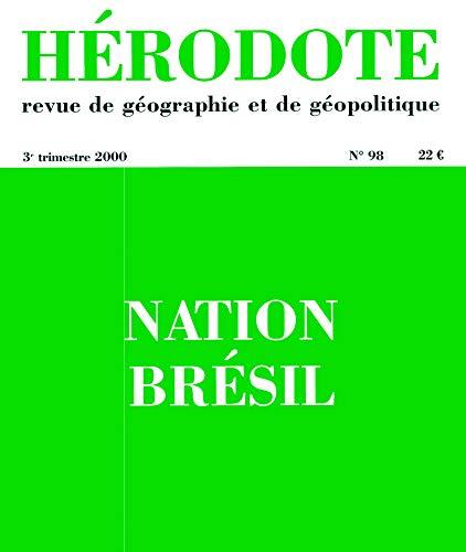 Hérodote, numéro 98, Nation Brésil