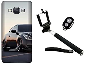 APE Back Cover and Selfie Stick for Samsung Galaxy J2 ACE