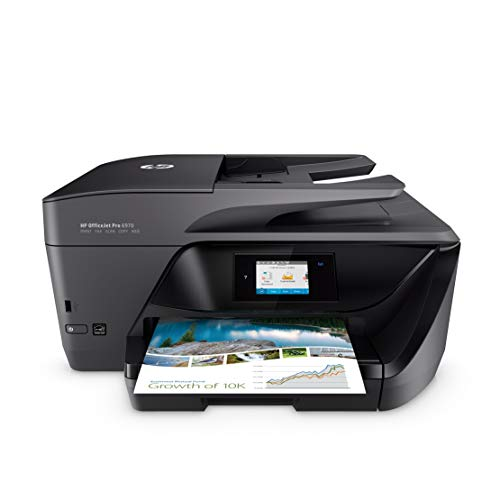 HP OfficeJet Pro 6970 All-in-One Colour Inkjet Printer, Instant Ink Compatible with...