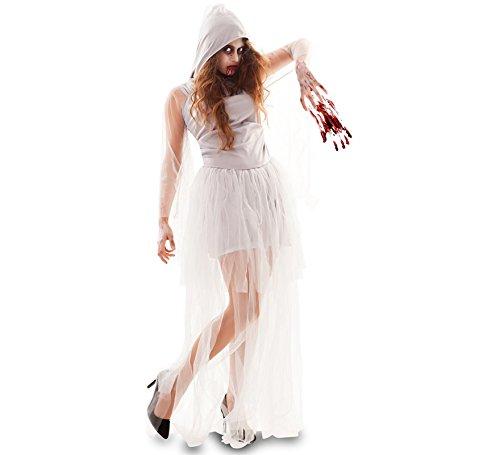 Fyasa 706564-t04weiblich Zombie Braut Kostüm, groß