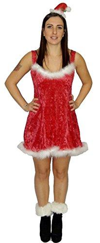 üm Weihnachten Krippe Party Fancy Dress Outfit Gr. Einheitsgröße,  - Dress, Fascinator & Booties (Xmas Fancy Dress Kostüme)