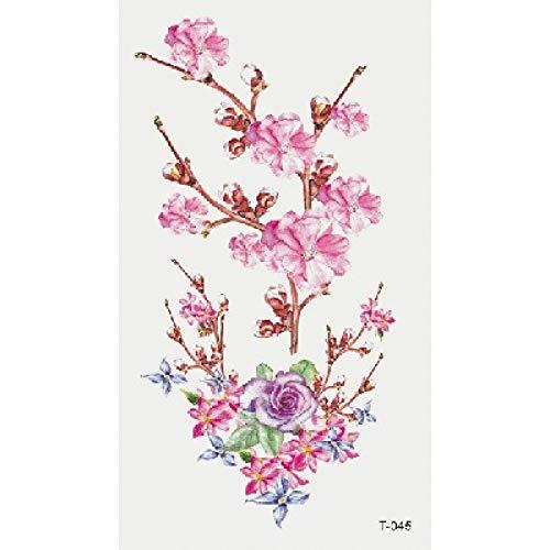 Piccoli adesivi per tatuaggi freschi adesivi per tatuaggi fiore alfabeto bambini inglesi cartoon 3pcs-19 60 * 105mm