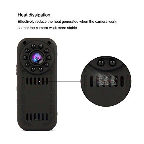 WIFI Spy Camera , PANNOVO HD 1080P Wireless Hidden Camera Security Camera  Wireless Video recorder with Night Visioon