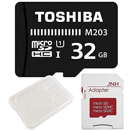 Toshiba ultra-high-speed u34k supporto micro sdhc da 32gb con adattatore sd + per contenitore trasparente di merci [bulk]