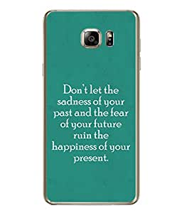 99Sublimation Designer Back Case Cover for Samsung Galaxy Note 5 :: Samsung Galaxy Note 5 N920G :: Samsung Galaxy Note5 N920T N920A N920I (future hapiness of you present )