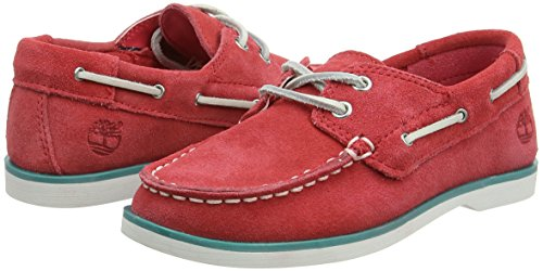Timberland Unisex Baby Seabury Classic 2Eye Boatcardinal Lauflernschuhe, Rot (Cardinal Hammer II), 29 EU -