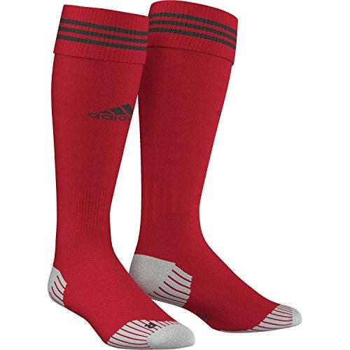 adidas Men's Adisock 12,  - University Red/Black, Size 43-45, Single Pair