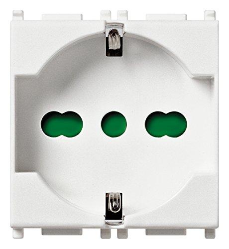 Vimar 14210 Presa di Corrente Standard, Bianco