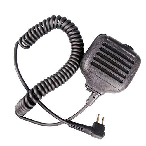 Ben-gi Schwarz KMC-17M PTT-Lautsprecher MIC-Radio Ersatz für GP3688 GP88 GP300 GP2000 CT150 P040 Mag One A8 HYT TC500 - Ersatz-arm-antrieb
