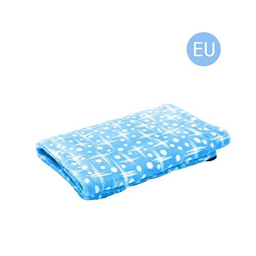 Azul de baja tensión multifuncional de infrarrojo lejano tratamiento térmico Fisioterapia calefacción eléctrica rodilleras Manta eléctrica de calentamiento almohadilla de colchón