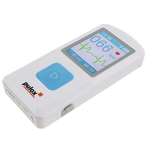 ekg tragbar Pulox PM10 Mobiles Einkanal EKG Gerät Heim EKG-Gerät mit USB und PC Software