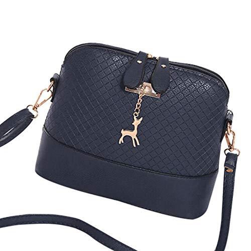 SUCES Vintage Umhängetasche Damen Messenger Bag Lässig Handtasche Fashion Elegant Schulter Paket Modische Frauen Schultertasche Hochwertiges ()