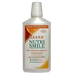 JASON NATURAL PRODUCTS MOUTHWASH, NUTRISMILE, 16 FZ