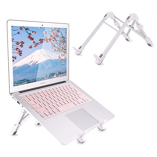 Laptopständer,Lucoss Faltbarer Notebook Ständer, Aluminium Ergonomisches Tragbar Verstellbarer für Apple Macbook, iPad Notebook Laptop Ständer Halter, up to 15.6 inch