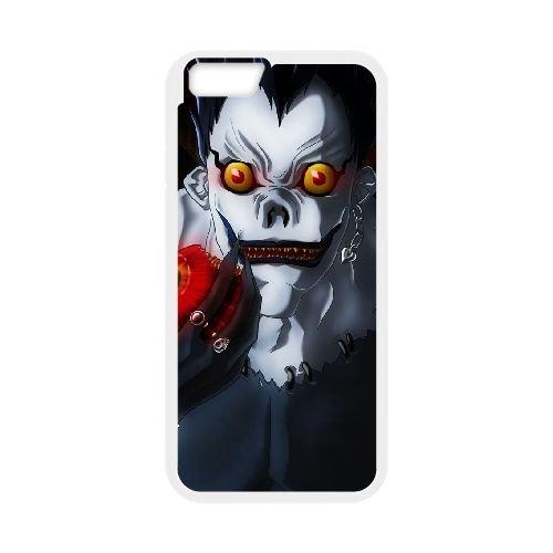 Death Note coque iPhone 6 Plus 5.5 Inch Housse Blanc téléphone portable couverture de cas coque EBDXJKNBO11735