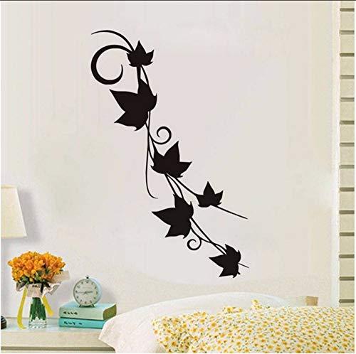 Lvabc Moderne Dekoration Wandaufkleber Für Wohnzimmer Abnehmbare Wasserdichte Reben Wandkunst Aufkleber Tapete Poster Wohnkultur 76X43 Cm